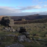 View of Saddle Tor near the Dartmoor Holiday Cottage