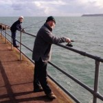 Fishing at Goodrington, only a short drive from this Devon Holiday Home