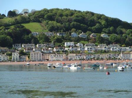 Shaldon Beach is a short drive from our Devon holiday home