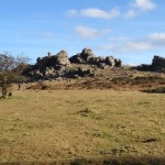Hound Tor on Dartmoor, only 6 miles from this Dartmoor Holiday Cottage