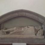 Sir William le Proux in Lustleigh Church on Dartmoor