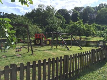Lustleigh's Family Play Park close to the Dartmoor Holiday Cottage