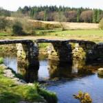 Clapper Bridge at Postbridge, Dartmoor, Devon