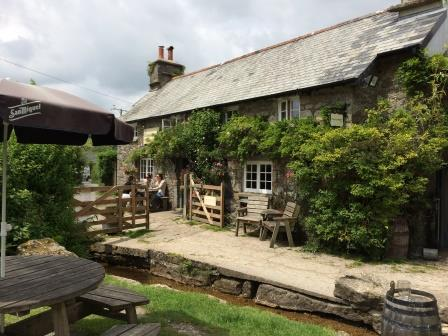 The Rugglestone Inn at Widecome in the moor