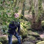Dartmoor's River Bovey passing Lustleigh