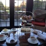 Afternoon Tea at Gidleigh Park near Chagford