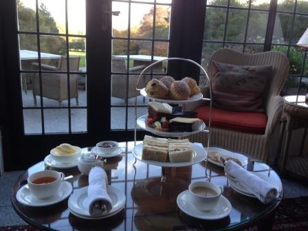 Afternoon Tea at Gidleigh Park near Chagford