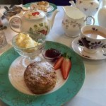 Devon Cream Tea at Taylors Tea Room in Ashburton