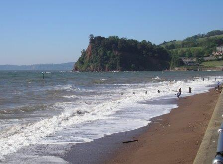 Teignmouth Beach, South Devon
