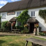 Lustleigh's village Pub close to the Dartmoor Holiday Cottage