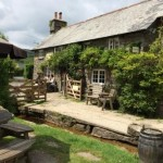 The Rugglestone, a great Dartmoor Pub not far from our holiday cottage