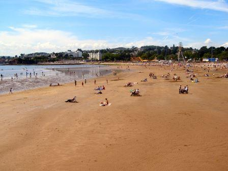 Abbey Sands Beach, Torquay, South Devon