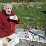 A warming Devon Cream Tea on Dartmoor