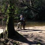 River bank at Parke gives a great place to stop for a picnic