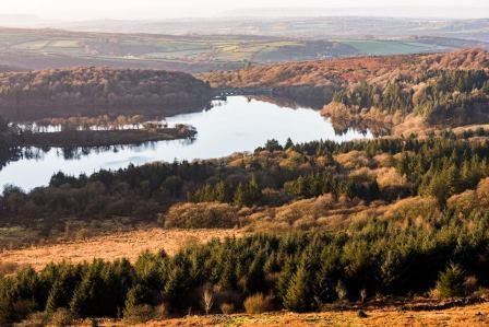 Burrator Reservoir on Dartmoor