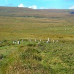Dartmoor Stone Circle at Scorhill, just 15 miles from the holiday home