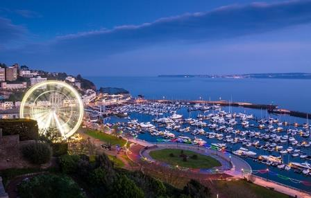 Torquay 17 miles from our Dartmoor holiday home
