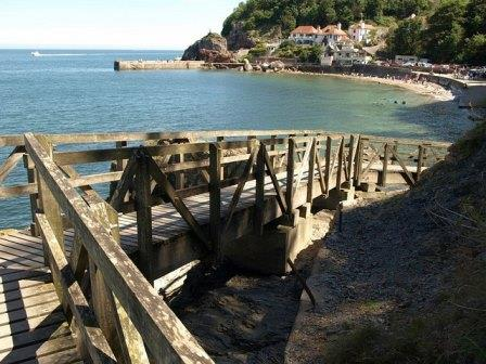Babbacombe Beach, South Devon