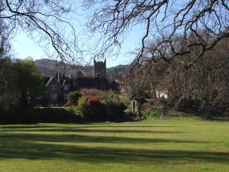 Lustleigh's Cricket Field, next to the dartmoor holiday rental