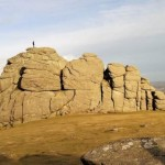 Haytor, nearby the Devon Holiday Cottage, is Dartmoor's most famous Tor