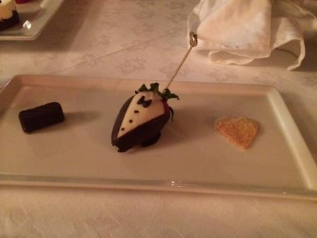 Petit Fours at the Thacthed Cottage