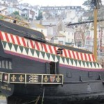 The Golden Hind at Brixham, a popular and historic Devon Holiday attraction