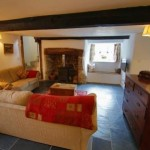Spacious Lounge of the Thatched Dartmoor Holiday Rental