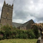 Church in Lustleigh on Dartmoor, Devon