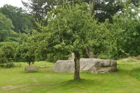 Lustleigh Orchard nearby the holiday cottage