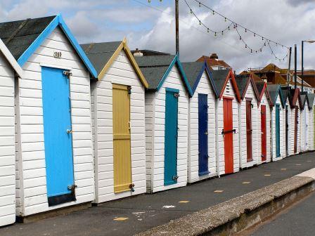 Beach Huts, Paignton, South Devon