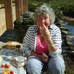 Dartmoor Cream Tea Picnic with real Strawberries