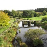 Clapper Bridge, Postbridge, Dartmoor, Devon