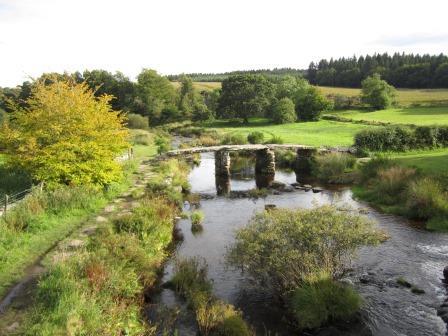 Clapper Bridge, Postbridge, Dartmoor, Devon