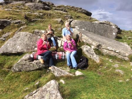 Cream Tea at 10 Commandment Stones, Dartmoor