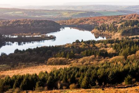 Burrator Reservoir on Dartmoor