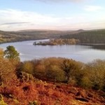 View of Burrator Reservoir on Dartmoor