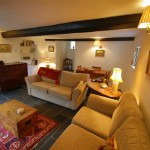 Cosy and Comfortable Lounge of Three Pound Cottage the best self catering accommodation on Dartmoor