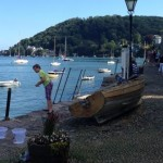 Historic Dartmouth is a great day out from the dartmoor holiday cottage