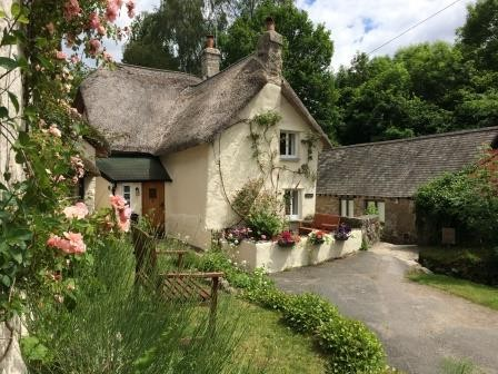 Three Pound Cottage the thatched Dartmoor Holiday Cottage in Lustleigh South Devon