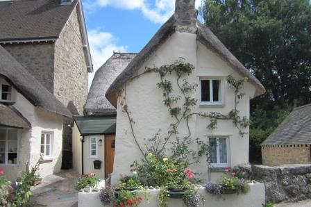 Thatched country holiday cottage on Dartmoor