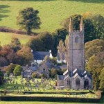 "Dartmoor's most famous village ""Widecombe in the moor"""