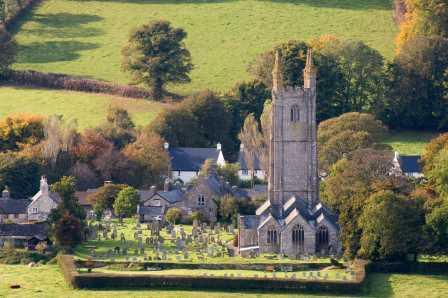 """Dartmoor's most famous village """"Widecombe in the moor"""""""