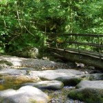 River Bridge near to the Dartmoor self catering Holiday Cottage