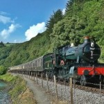 The Steam Railway is a great way to visit Dartmouth from our Dartmoor Holiday Cottage