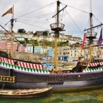 The Full sized replica of the Golden Hind is an educational day out whilst staying at our self catering accommodation in Lustleigh on Dartmoor