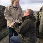 Marriage proposal on Haytor whilst staying at our Dartmoor Holiday Home