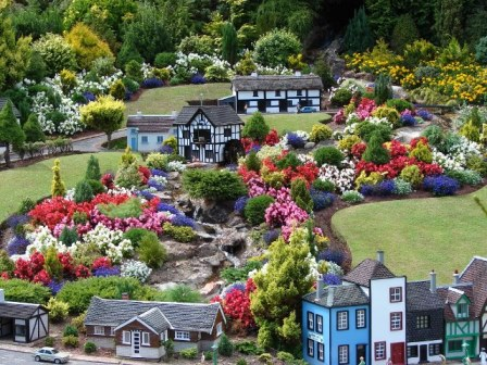 Torquay's Model Village is only 18 miles from our self catering accommodation on Dartmoor