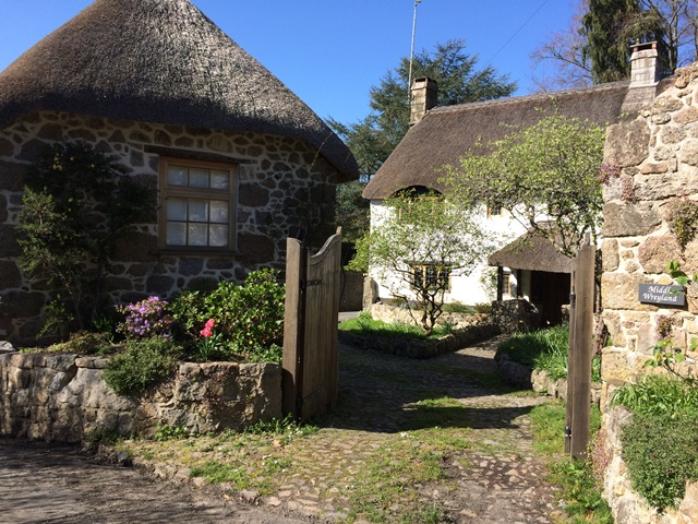 The pretty hamlet of Wreyland is a short stroll from our Dartmoor holiday cottage and must be seen