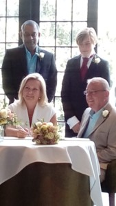 Dartmoor Holiday Cottage owners getting married whilst holidaying in Lustleigh