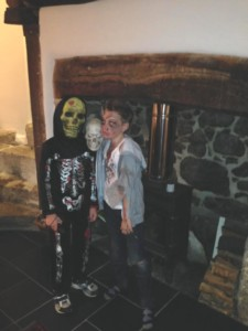 Happy Halloween at Three Pound Cottage the Self Catering Dartmoor Holiday Home
